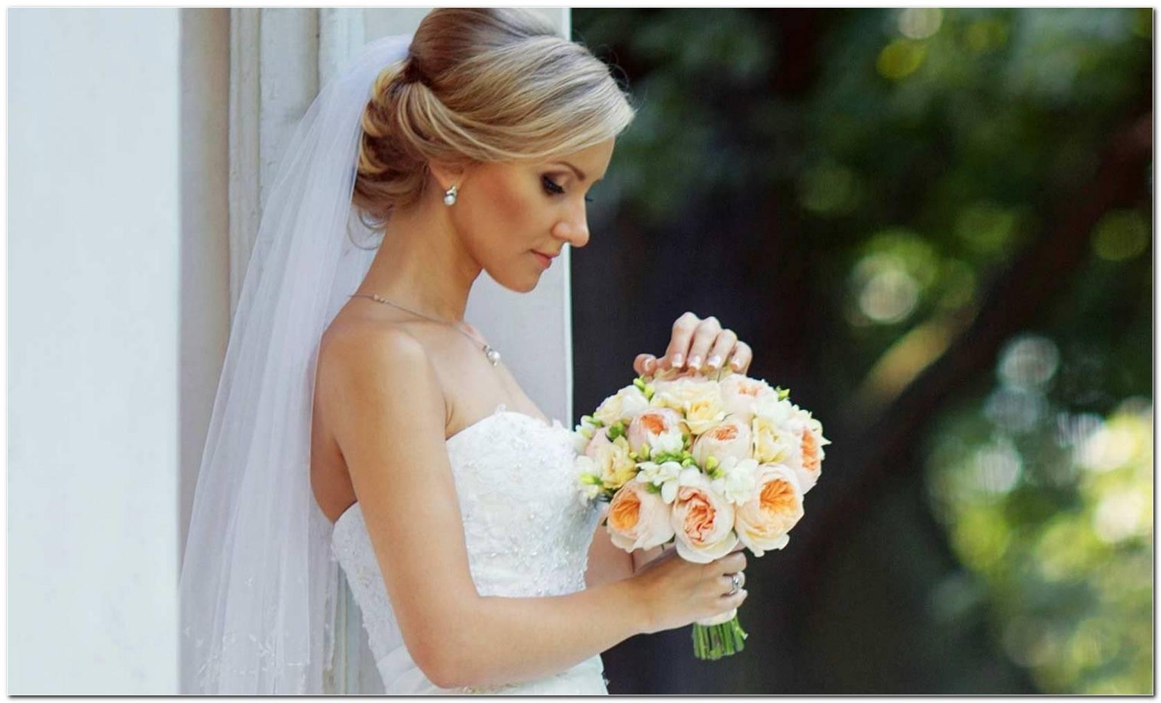 Welche Frisur Zu Tr%C3%A4Gerlosem Brautkleid