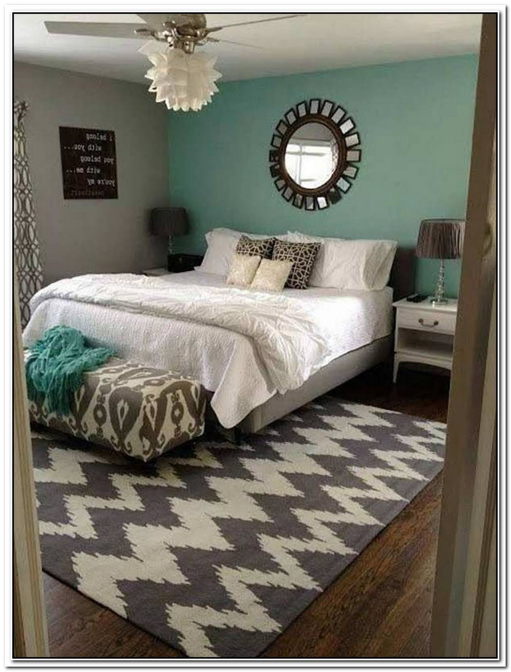 Whimsical Patterns Merge With Sophisticated Colors For A Stunning Bedroom Design