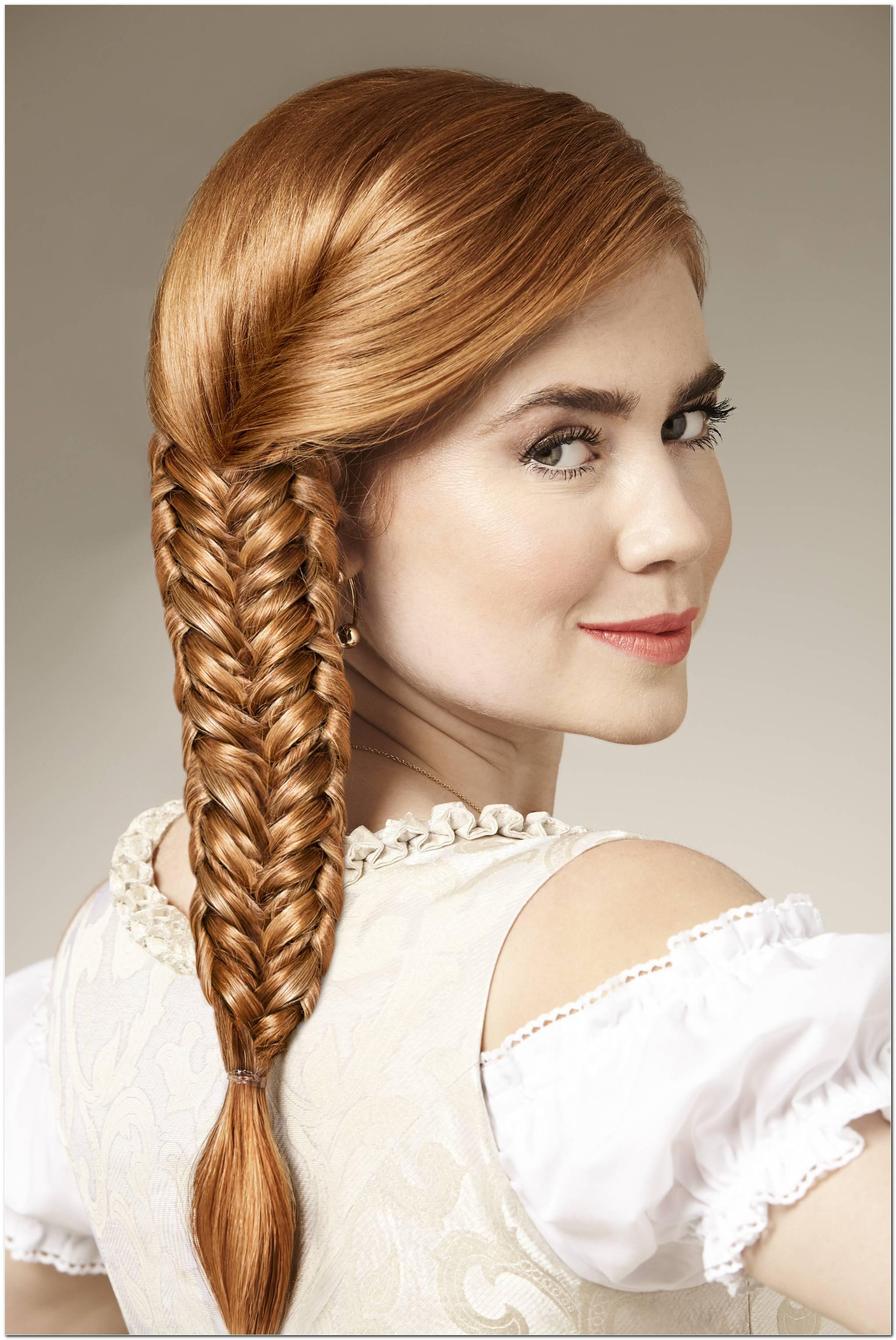 Wiesn Frisur Einfach