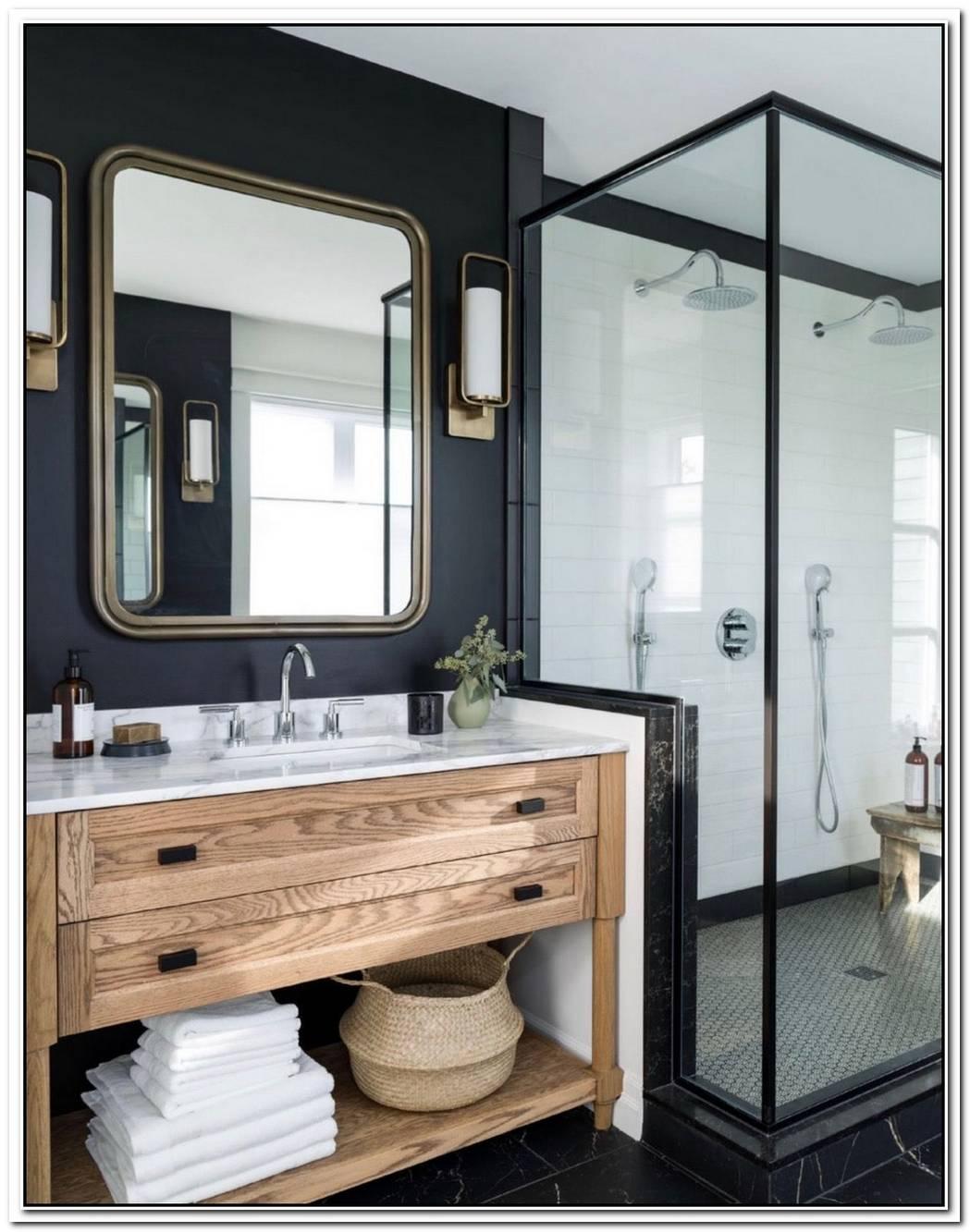 Wooden Contemporary Bathroom Natural