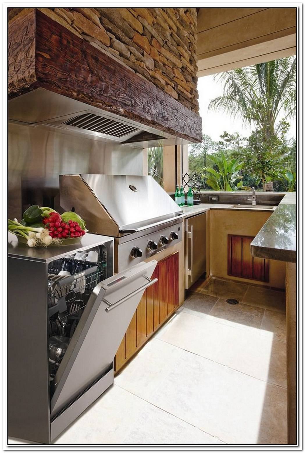 You, Too, Can Have An Outdoor Kitchen