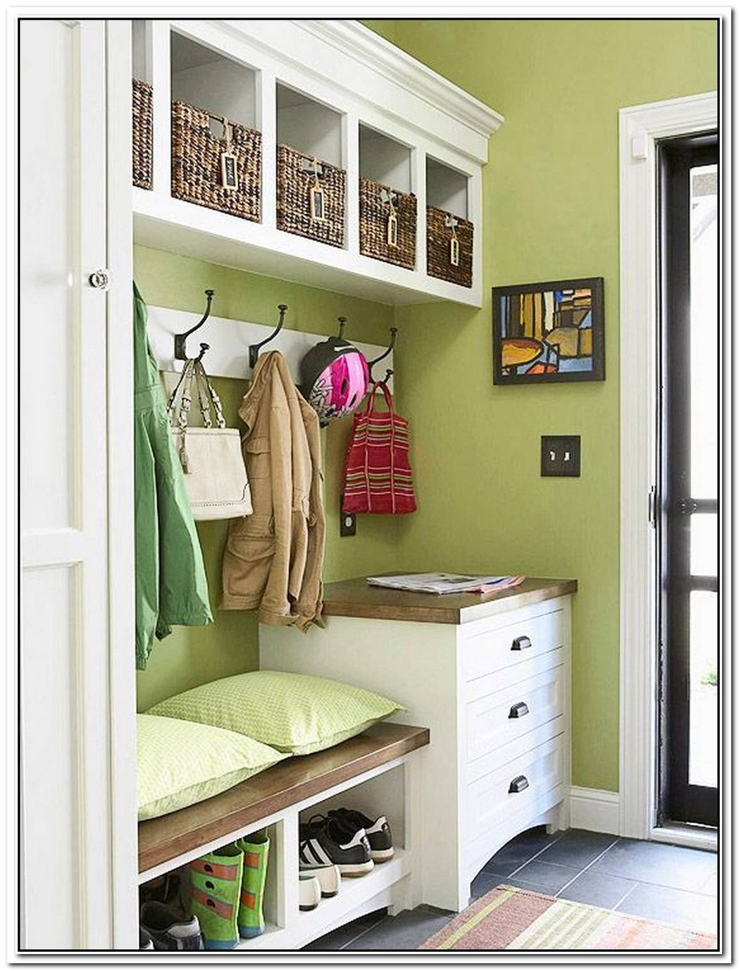 Your Oft Neglected Mudroom Can Be A Stylish Place To Express Your Personality