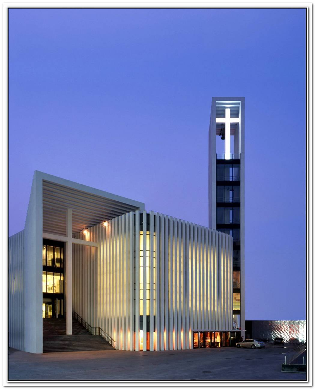 Zhongguancun Christian Church By Gmp Architekten