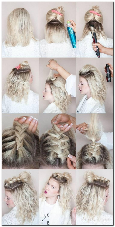 Zopf Frisuren Mit Kurzen Haaren