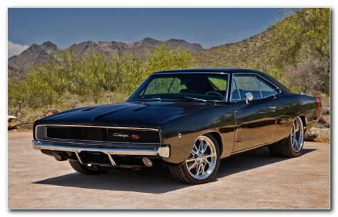 1970 Dodge Charger RT HD Wallpaper