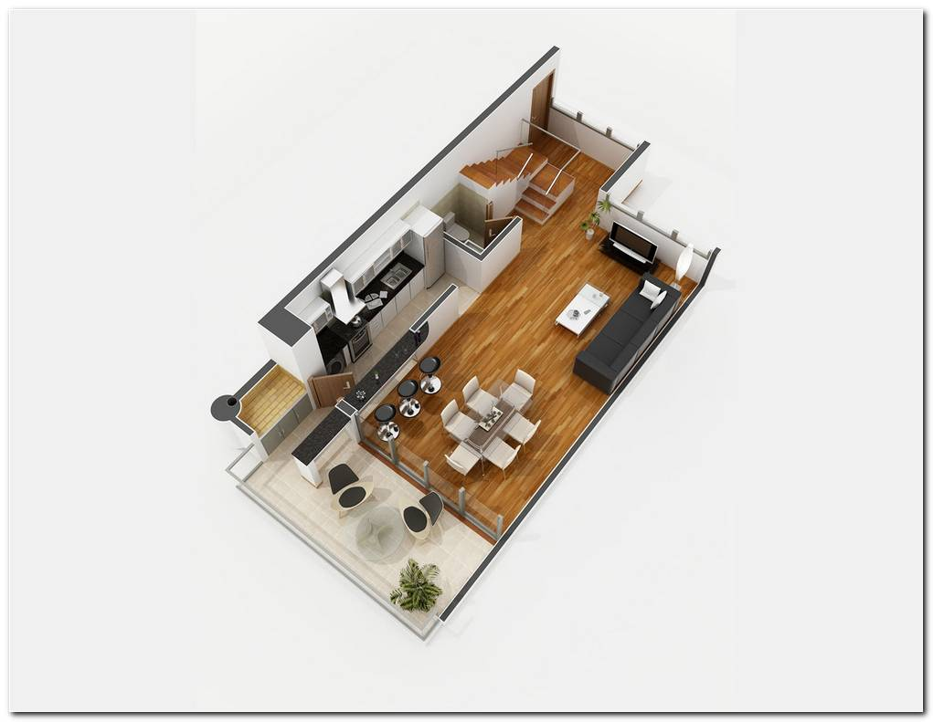 2 Dormitorios Duplex