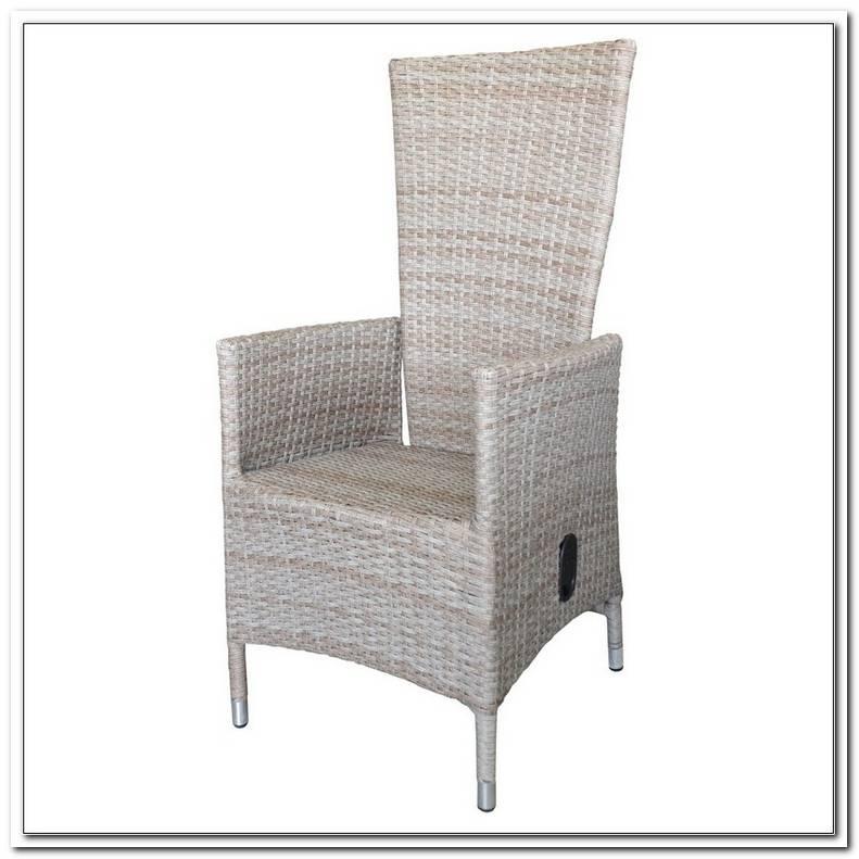 2 Gartenst?Hle Sessel Polyrattan Verstellbar Gartenstuhl