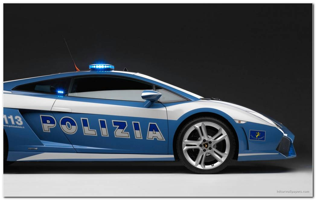 2009 Lamborghini Police Car Wallpaper In 1920x1200 Resolution 1920x1200