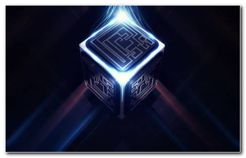 3D Cube HD Wallpaper