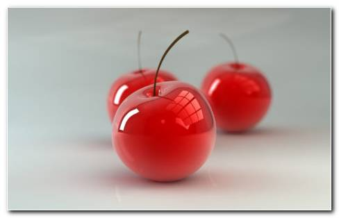 3D Cherry HD Wallpaper