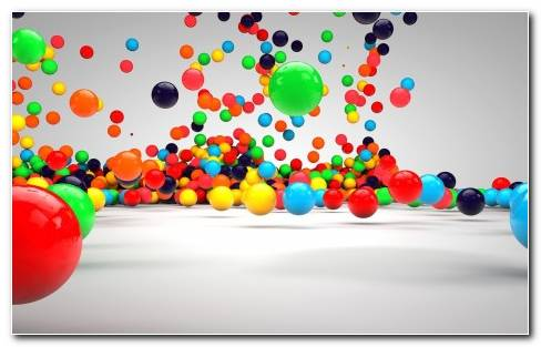 3d Balls 3d Hd Wallpaper