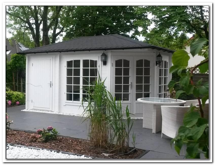 5 Eck Gartenhaus Josephine 40 Mit Anbau