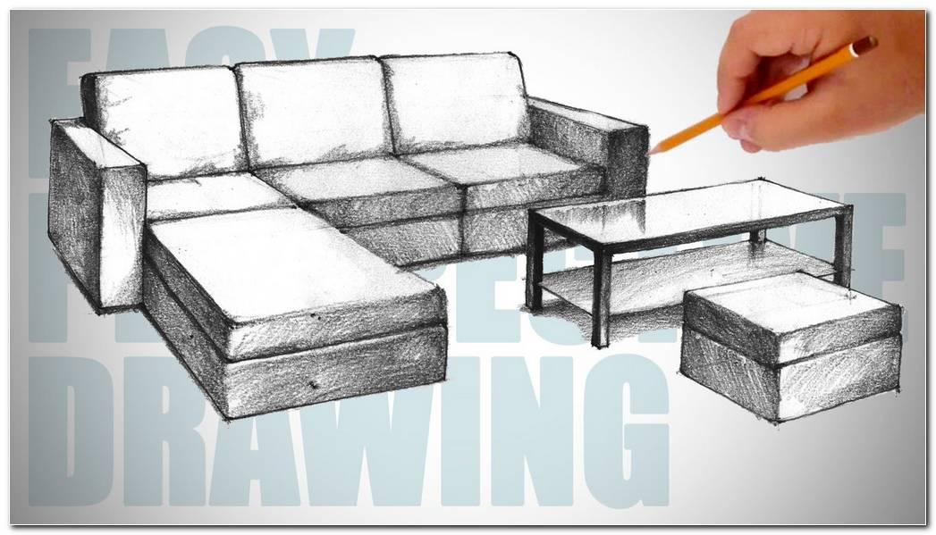 A Sofa Drawing