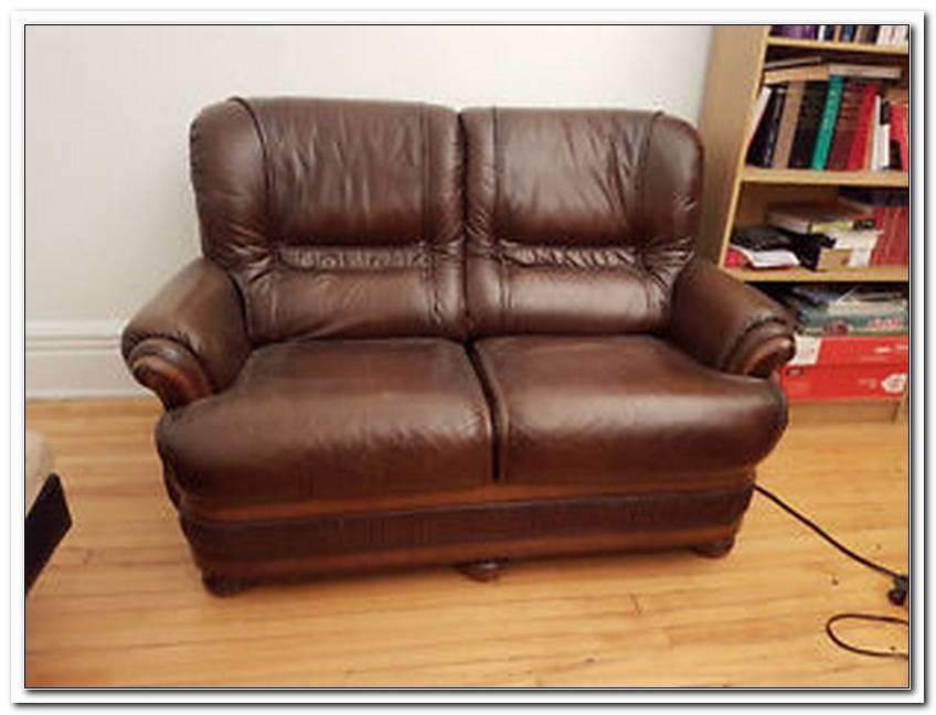 A Vendre Sofa En Cuir