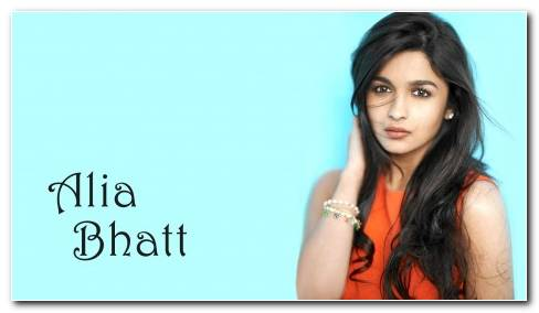 ALIA BHATT Indian Actress Bollywood Model Babe