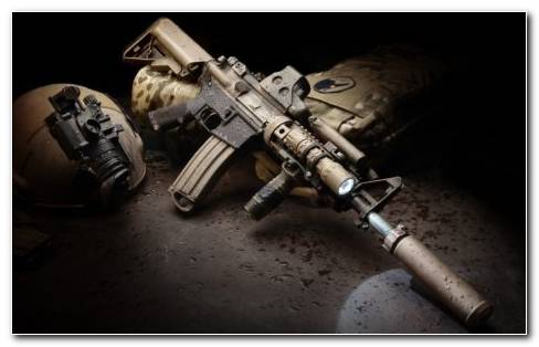 AR 15 Gun HD Wallpaper