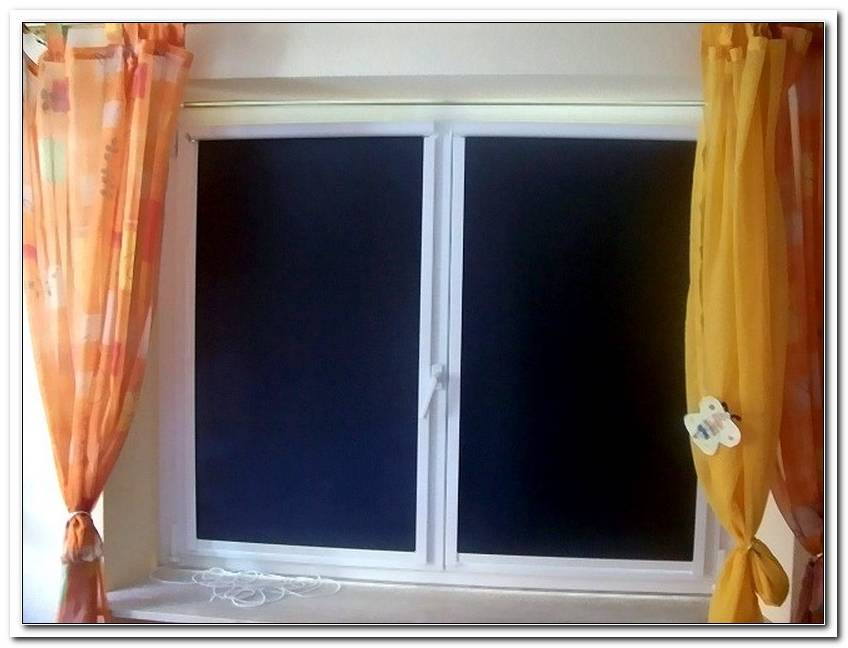 Abdunklung Fenster Folie