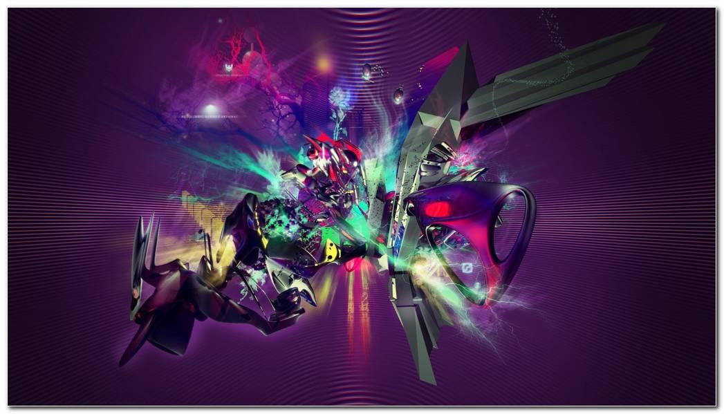 Abstract Best Music Wallpaper. Paint Color Splash Background Wallpaper