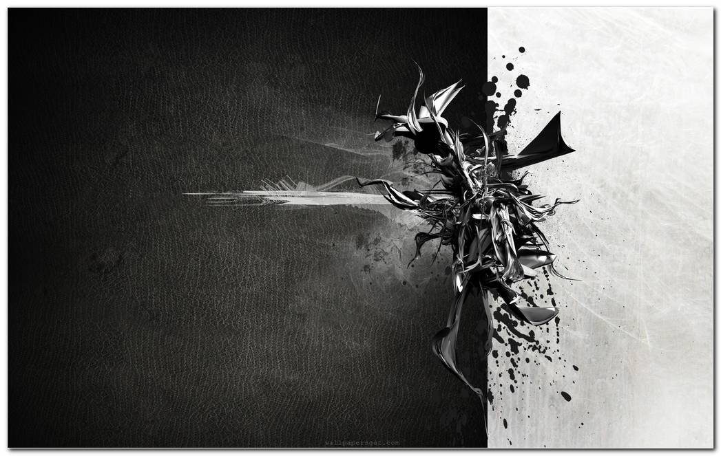 Abstract Black White Wallpaper 1920x1200