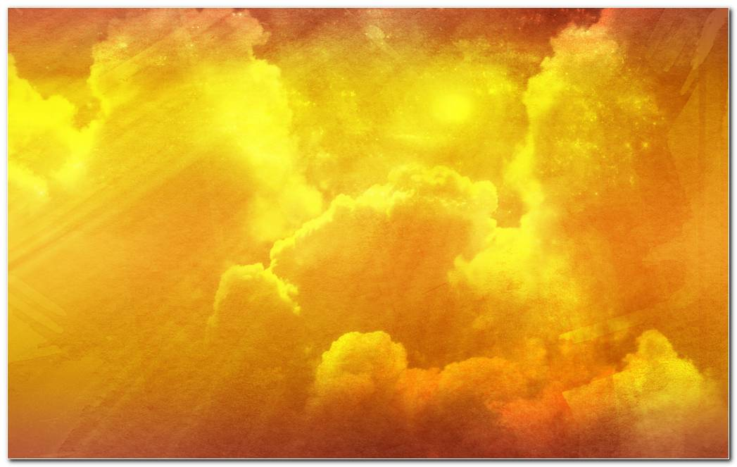 Abstract Cloudy Sky Textures Yellow Wallpaper Backgrounds