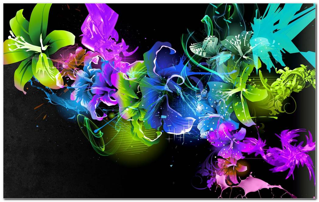 Abstract Color Art Wallpaper HD 1920x1200 (1)