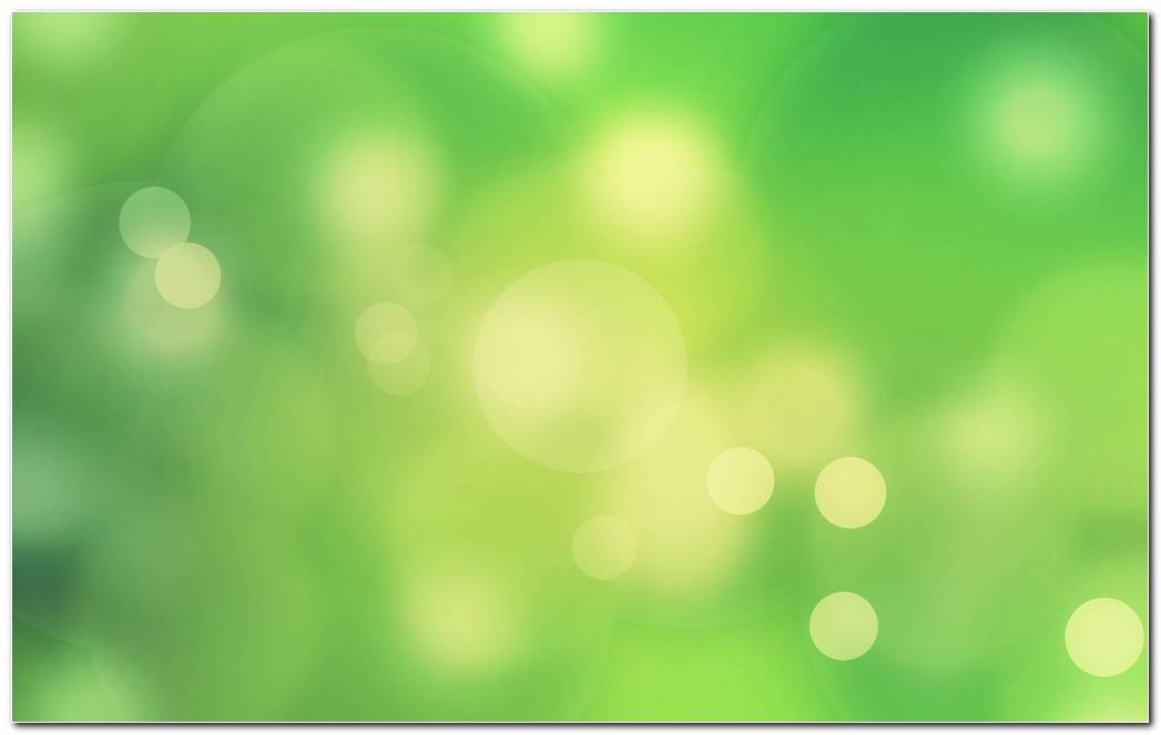 Abstract Green Autumn Nature Blur Light Wallpaper