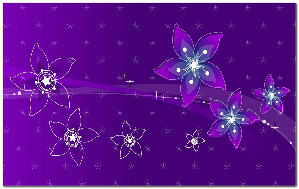 Abstract Pink Purple Flower Background Wallpaper