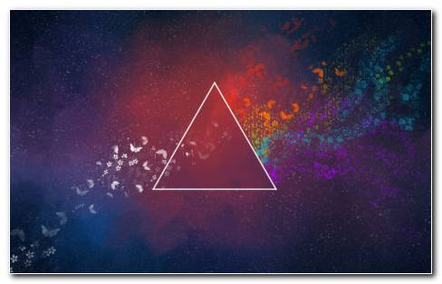 Abstract Triangle HD Wallpaper