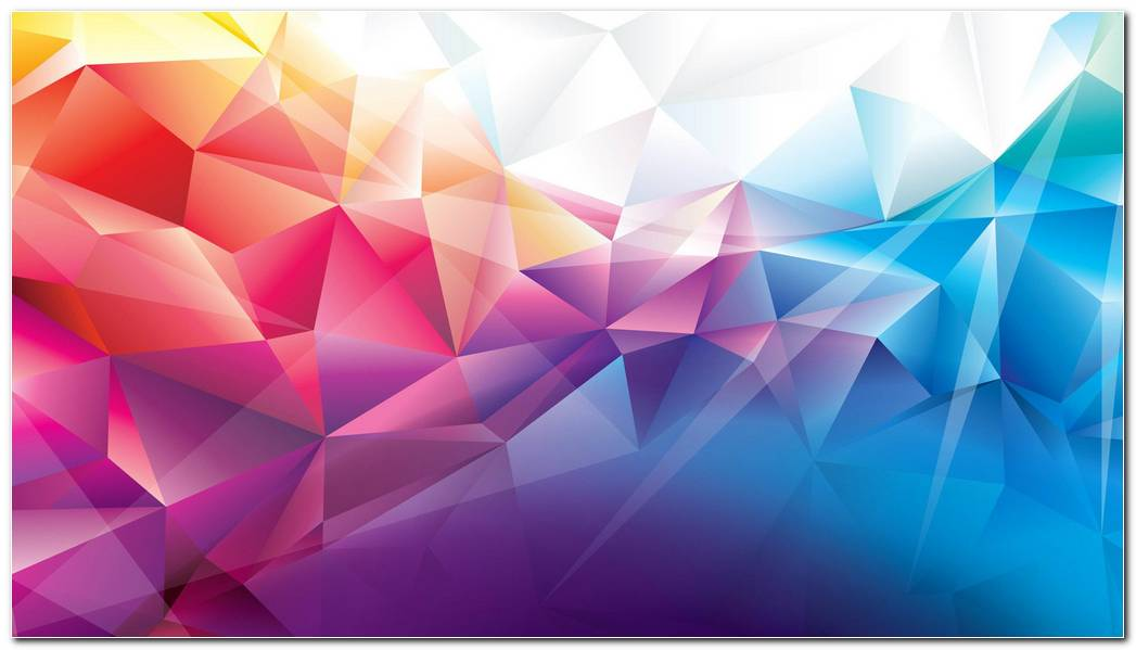 Abstract  Low Poly Colorful Background Wallpaper
