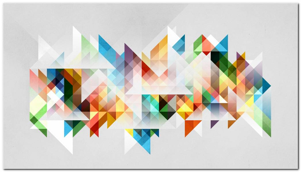 Abstraction Geometry Shapes Colors Background Wallpapers