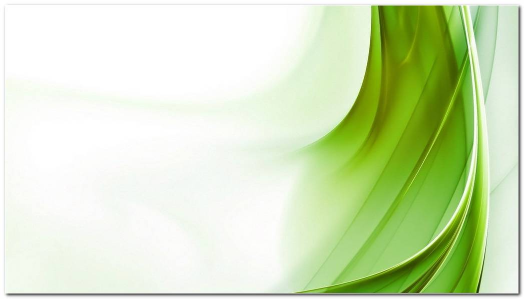 Abstraction Green White Line Wallpaper