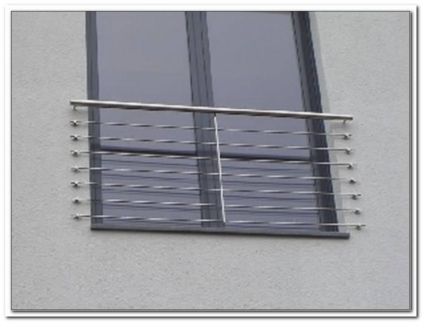 Absturzsicherung Fenster Edelstahl