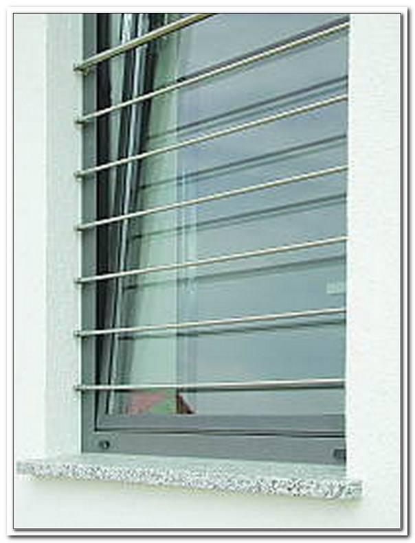 Absturzsicherung Fenster Stange