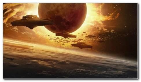 Alien invasion HD wallpaper