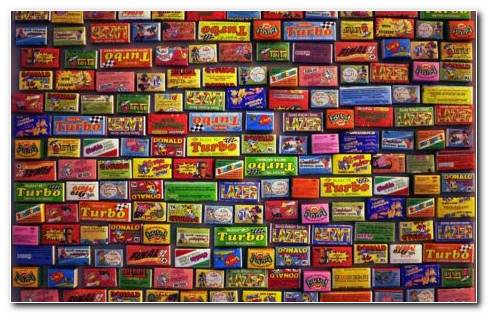 All Sorts Of Chewing Gums HD Wallpaper