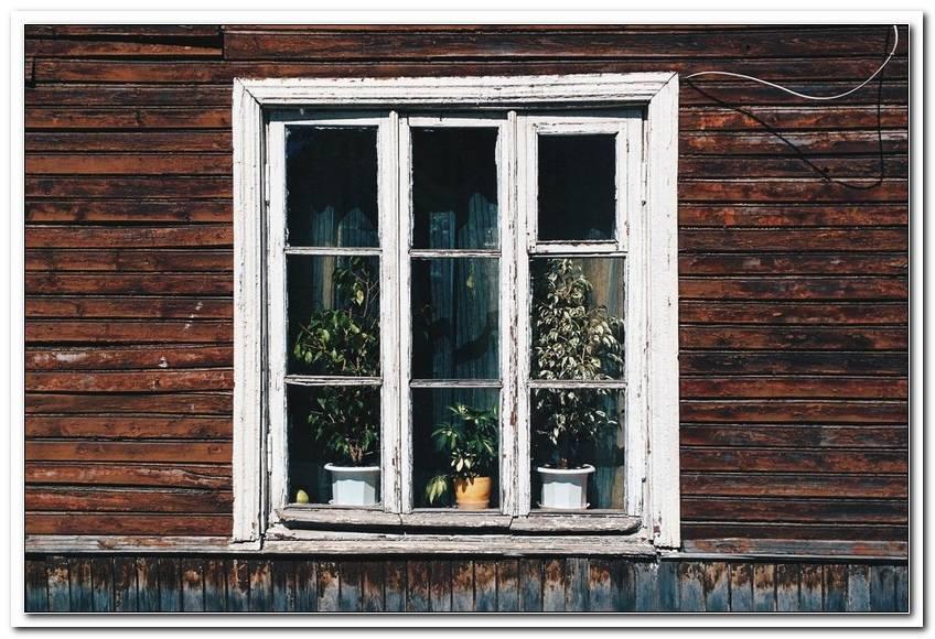 Alte Fenster Einfachverglasung