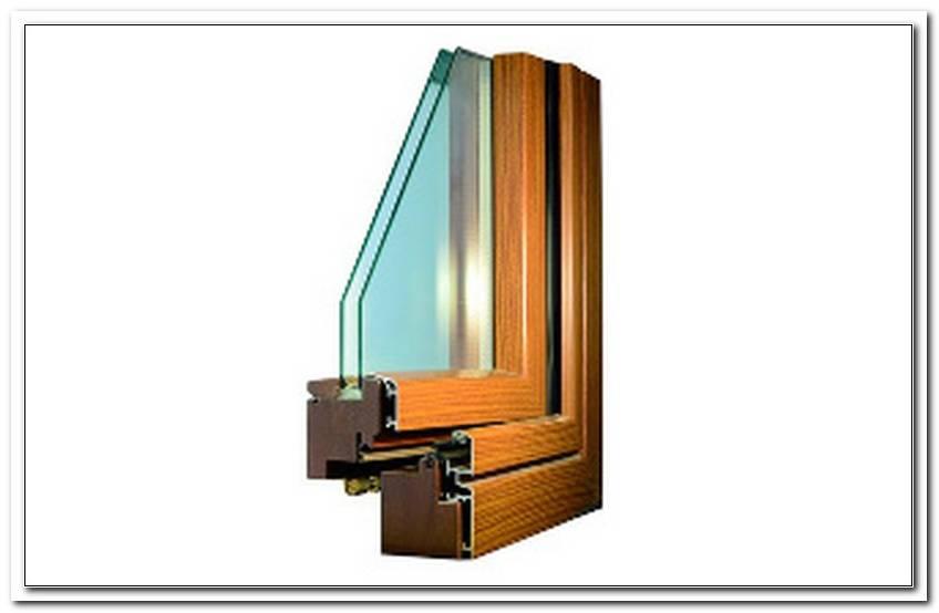 Alu Fenster Holzoptik