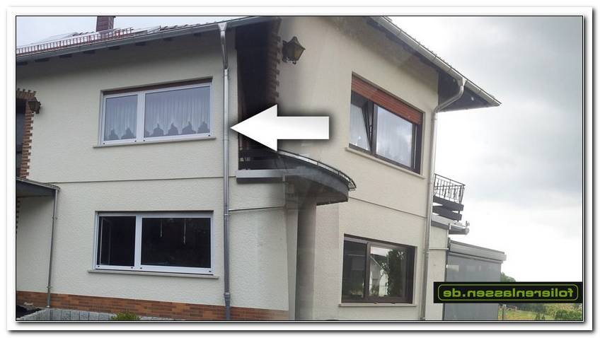 Aluminium Fenster Folieren