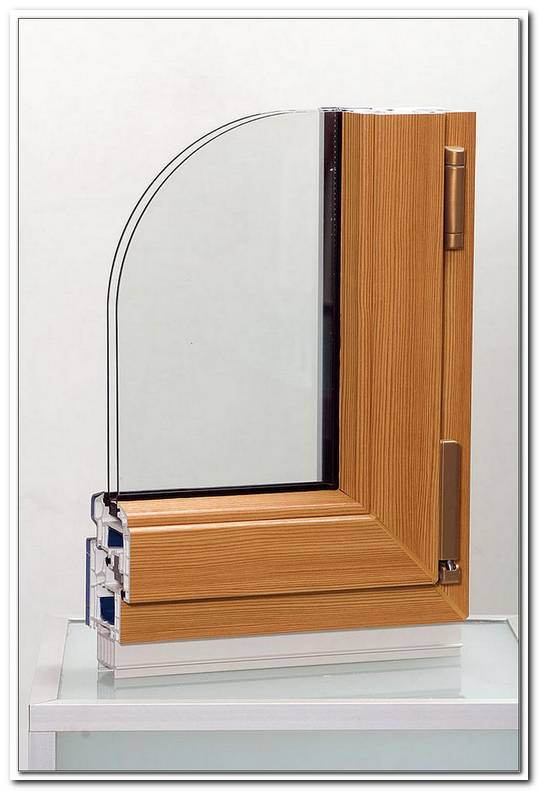 Aluminium Fenster In Holzoptik