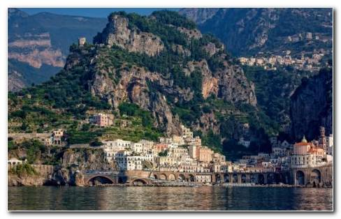 Amalfi Coast Weather HD Wallpaper