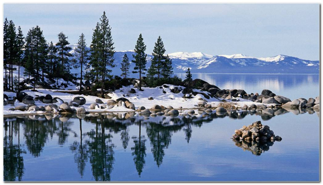 Amazing Lake Tahoe Wallpaper Background