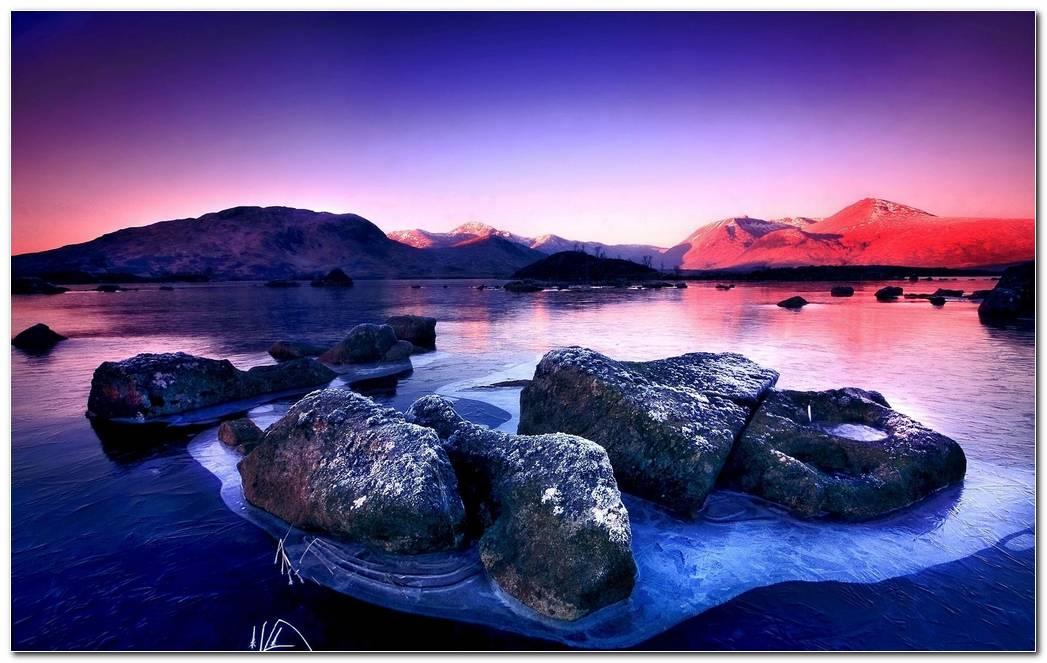 Amazing Nature Desktop Lake Wallpaper Background