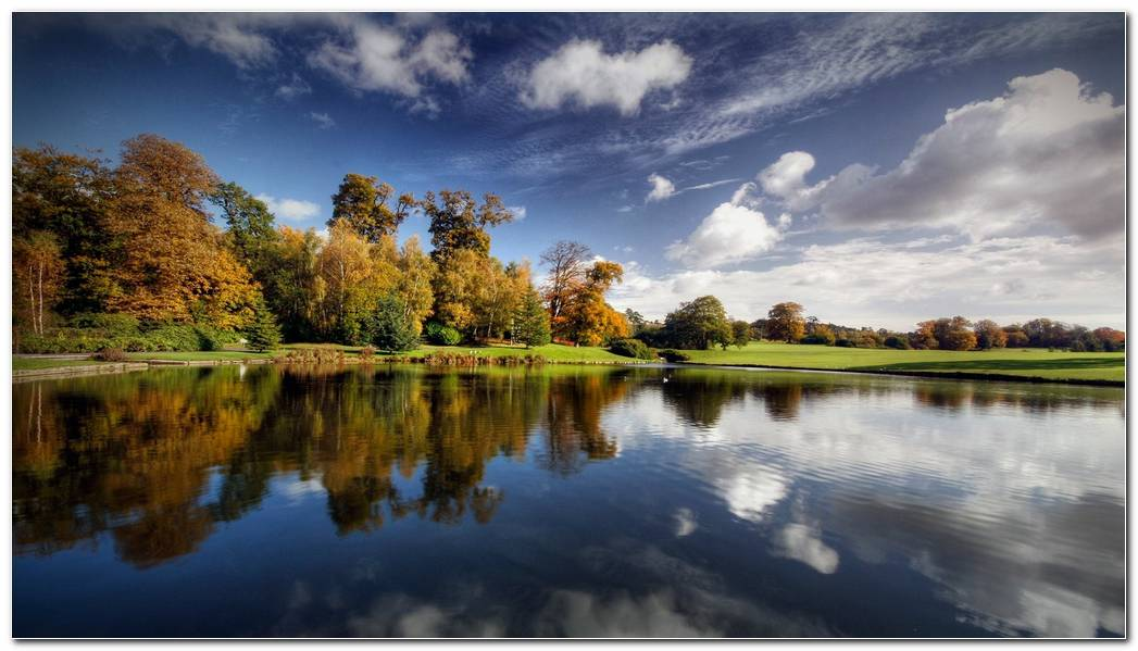 Amazing Nature Image Lake Wallpaper Background