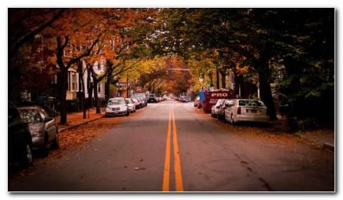 American Town HD Wallpaper