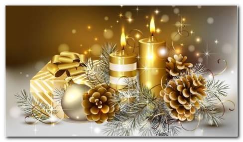 Animated Christmas Gifts HD Wallpaper