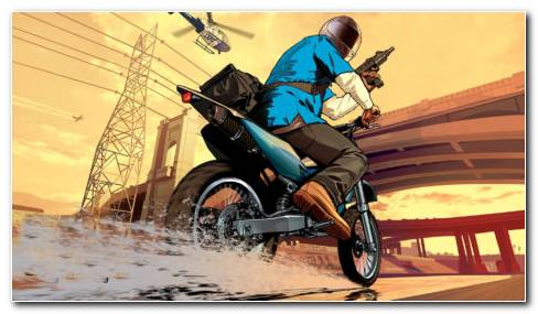 Animated Biker HD Wallpaper