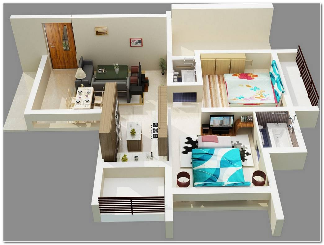 Apartamentos De Dos Dormitorios