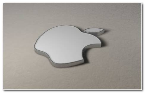 Apple 3D Logo HD Wallpaper