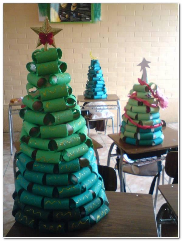 Arboles De Navidad Manualidades