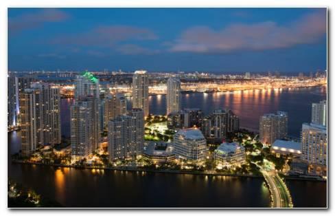 Architecture Miami HD Wallpaper